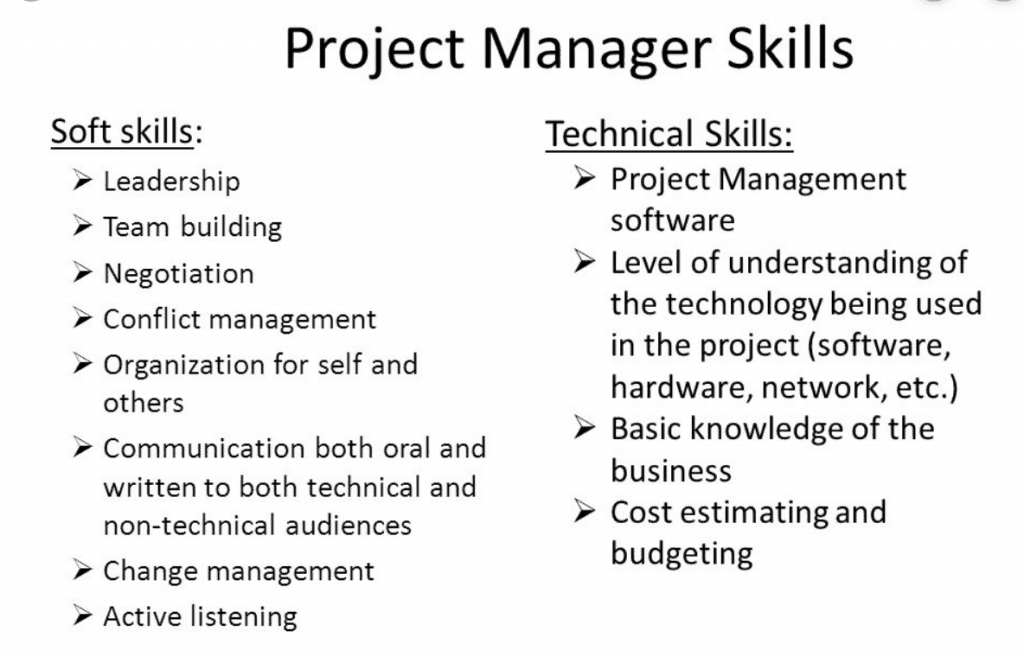 soft skills for project management